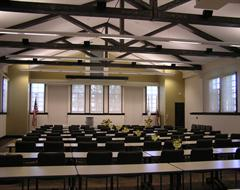 Conference Room A - Classroom/Standard Setup - Each Table Seats 2