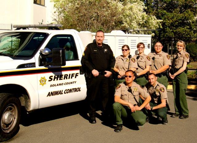 Solano County Sheriff's Animal Control Officers of 2015